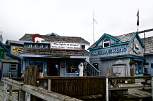 Shops on the Homer Spit