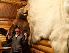 Greta being eaten by a bear. ;)
