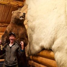Greta being eaten by a bear. ;)