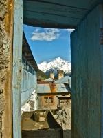 A village in the Svaneti, Region of Georgia