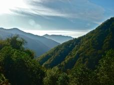 The lush mountains of Adjara in southwest Georgia